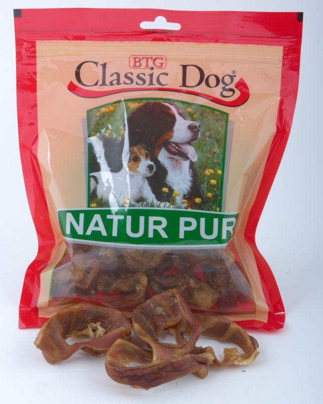 Classic Dog | Natur Pur - Schweineohren-Streifen