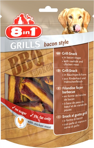 8in1 | Grills Bacon Style