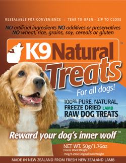 K9 Natural | Lamb Treats Pack
