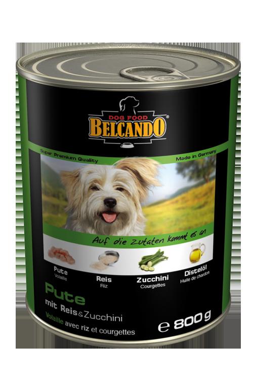 Belcando | Pute mit Reis & Zucchini