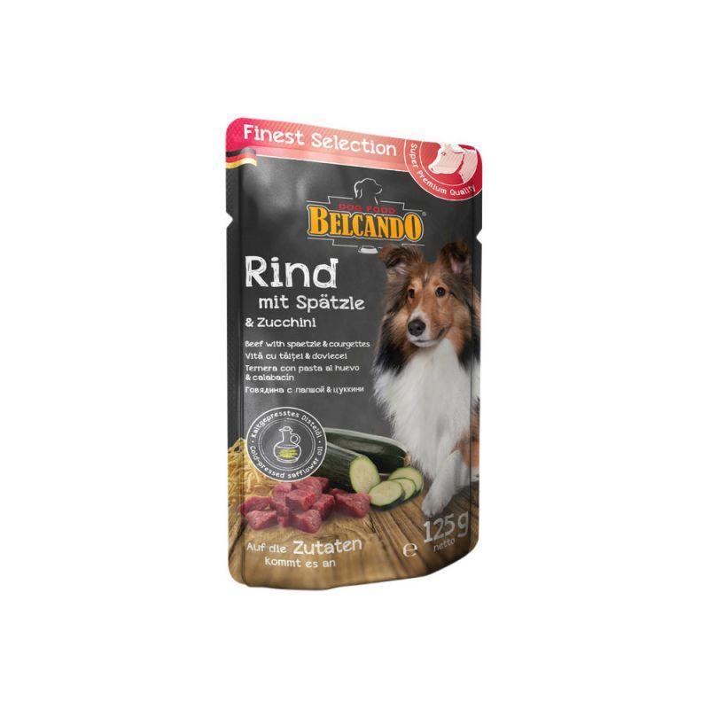 Belcando | Rind mit Spätzle & Zucchini