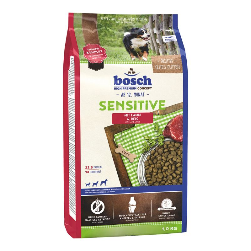 Bosch | Sensitive Lamm & Reis