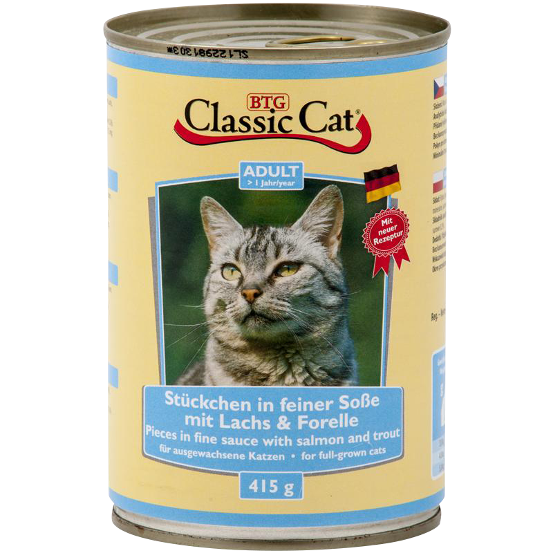 Classic Cat | Lachs & Forelle in Soße