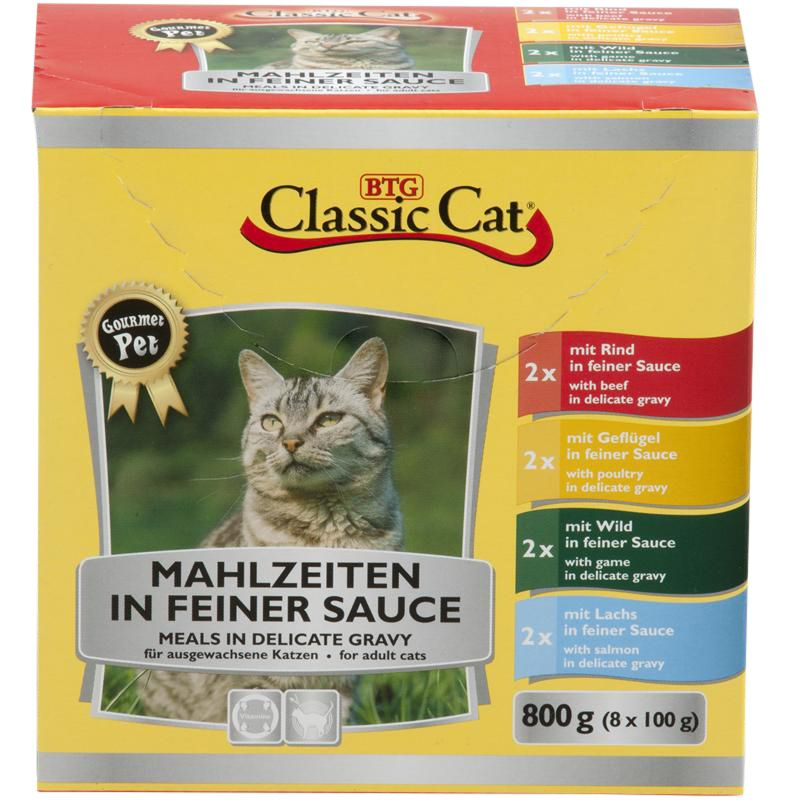 Classic Cat | Mahlzeiten in feiner Sauce
