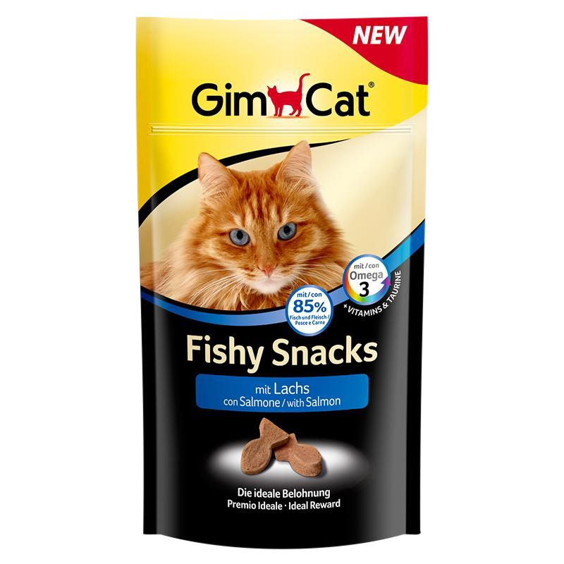 Gimcat | Fishy Snacks mit Lachs