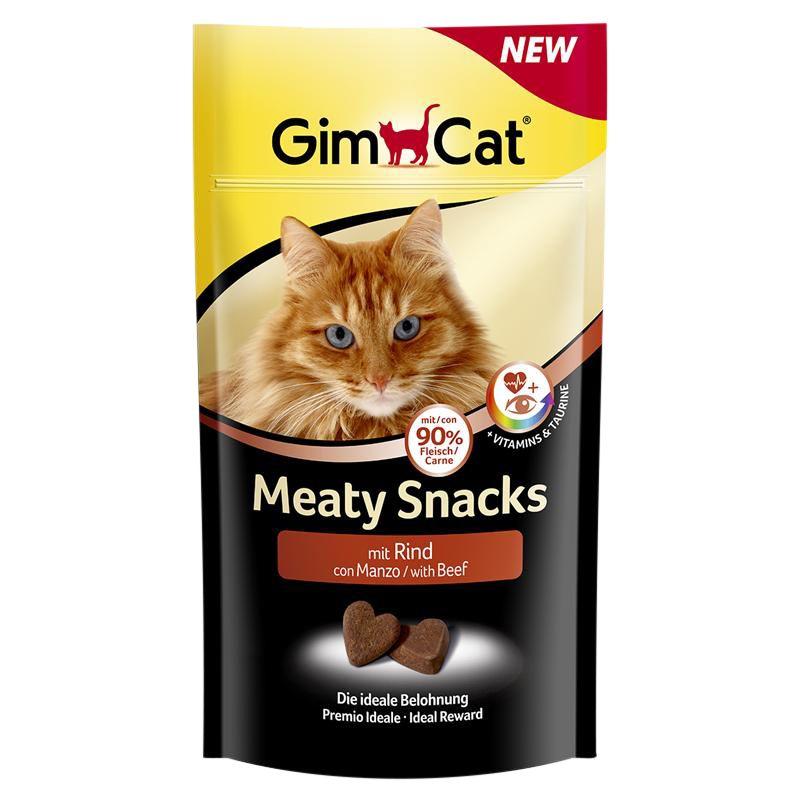Gimcat | Meaty Snacks mit Rind