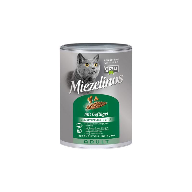 grau | Miezelinos Adult Sensitive/Hairball