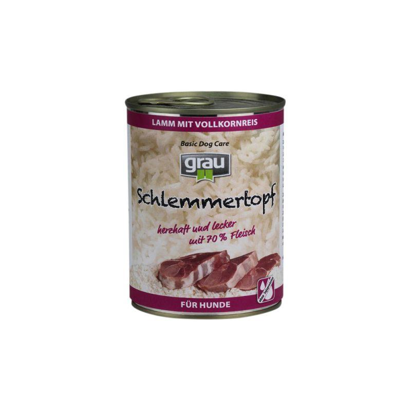 grau | Schlemmertopf Lamm mit Vollkornreis
