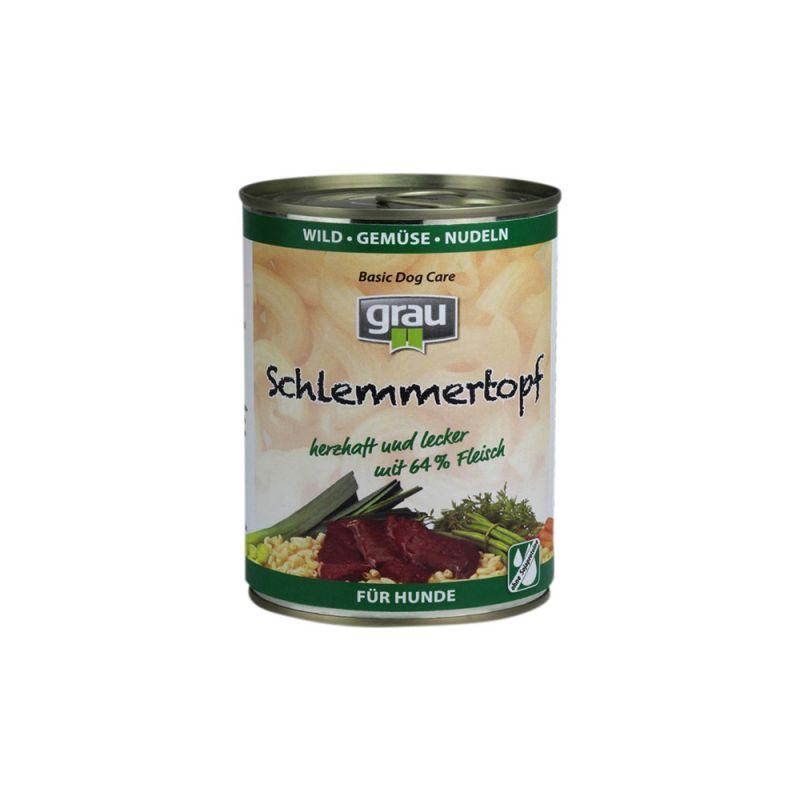 grau | Schlemmertopf Wild, Gemüse und Nudeln