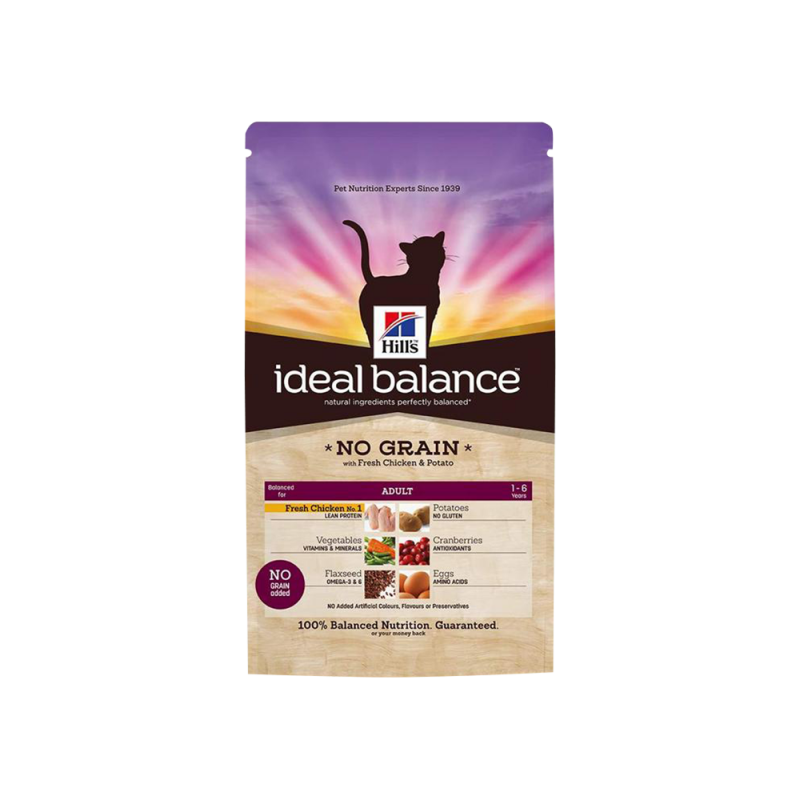 Hill's | Ideal Balance Adult No Grain with Fresh Chicken & Potato