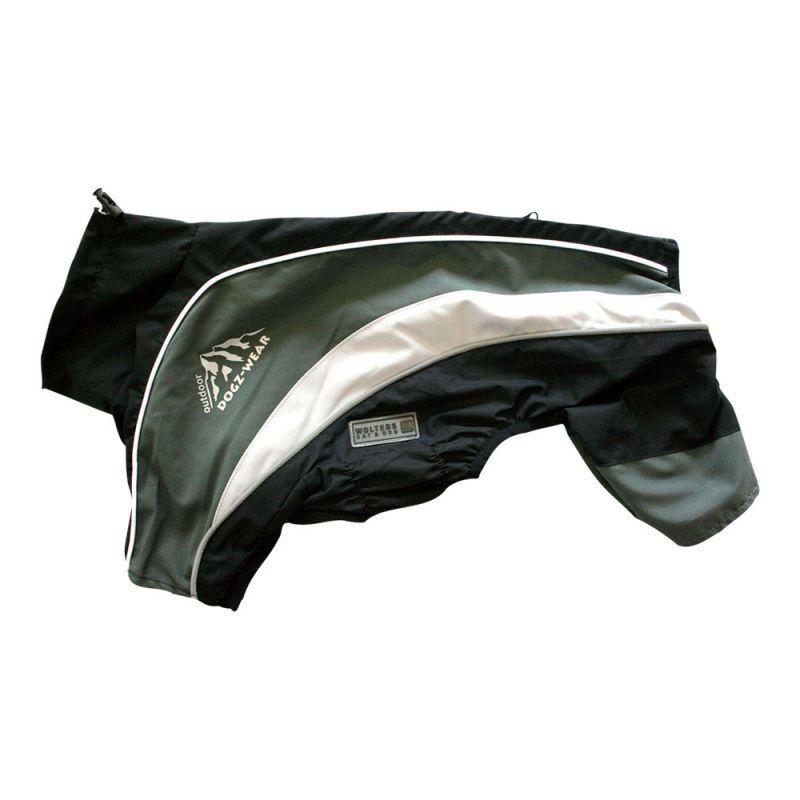 Wolters | Regenanzug Dogz Wear wasserdichtem RV schwarz/grau