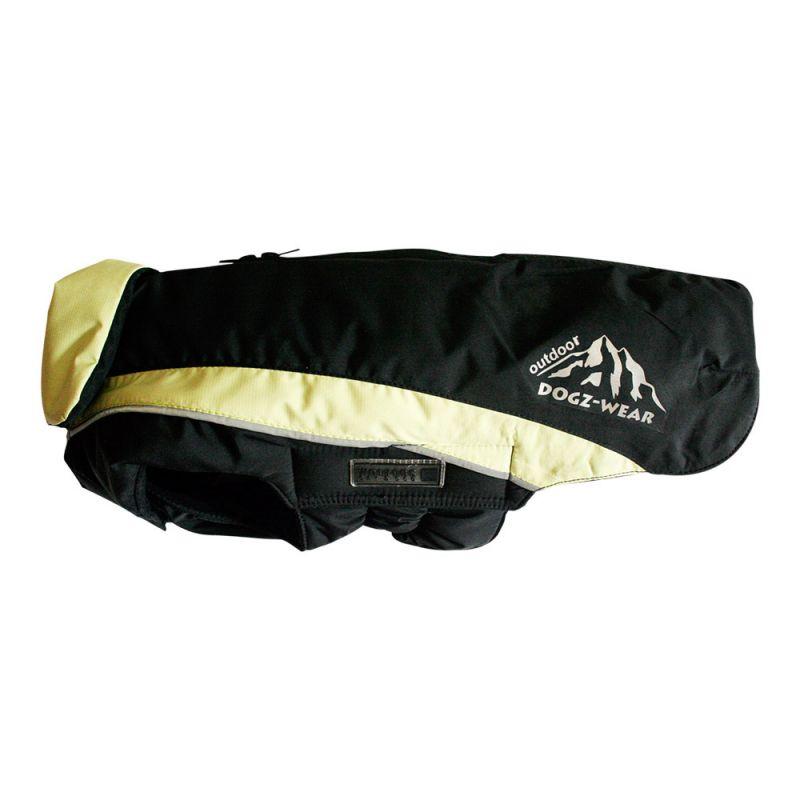 Wolters | Skijacke Dogz Wear wasserdichtem RV schwarz/lime