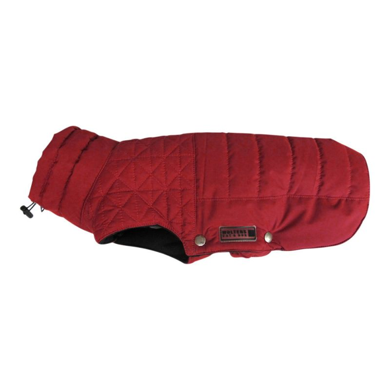Wolters | Thermosteppjacke Boston und Kordelzug rot