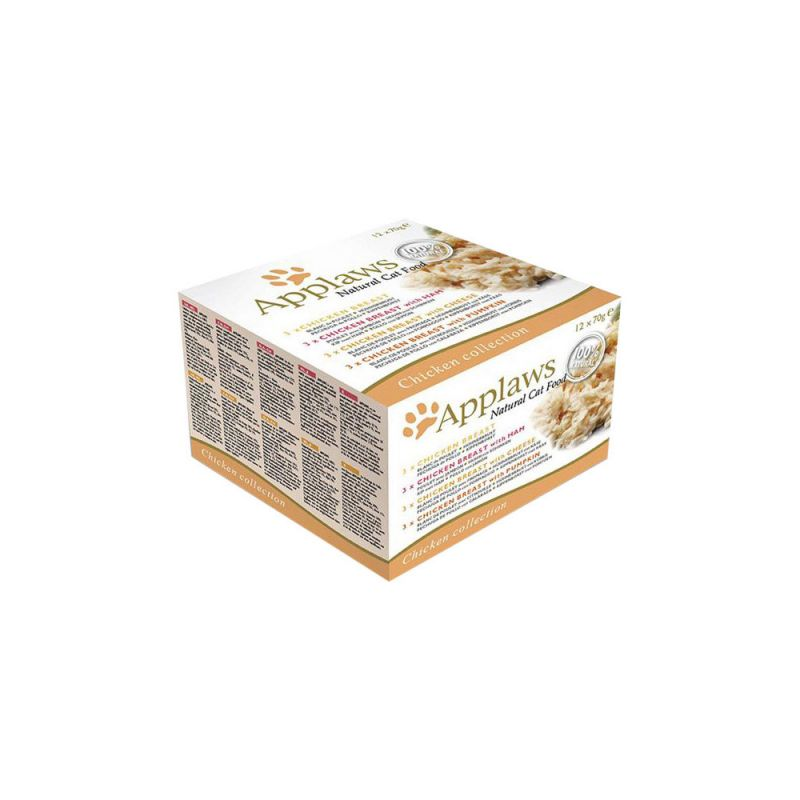 Applaws | Katzen Nassfutter Chicken Selection Multipack