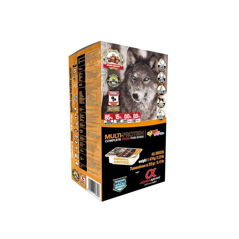 alpha spirit | Complete Dog Food Multi Protein
