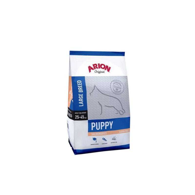 Arion | Original Puppy large Salmon & Rice