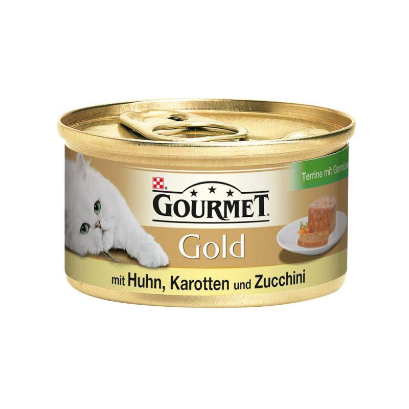 GOURMET | GOURMET Gold Terrine Huhn & Karotten & Zucchini