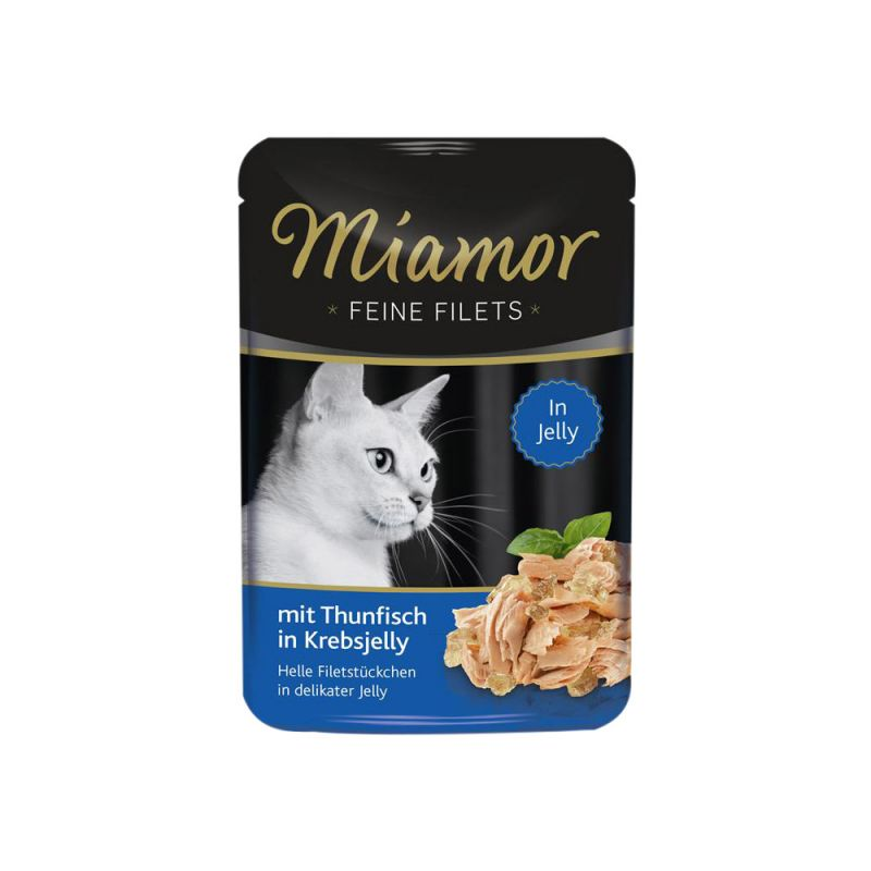 Miamor | Feine Filets Thunfisch in Krebsjelly