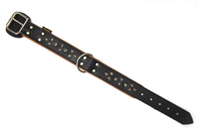 Heim | Halsband Mastino genietet Aufl. schwarz