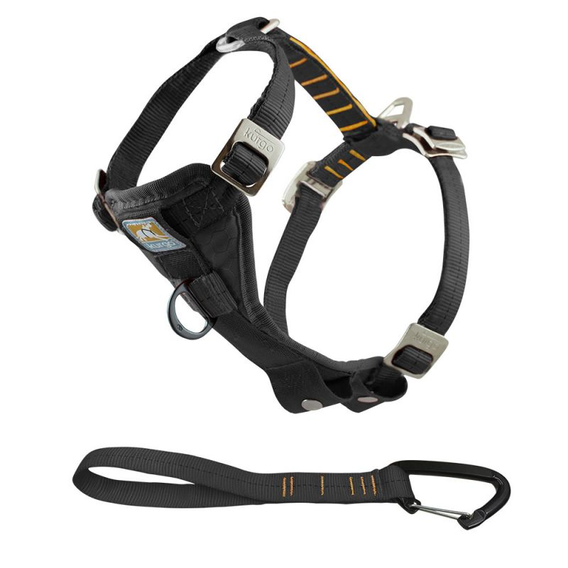 Kurgo | Enhanced Tru-Fit-Smart Harness (incl. Seat Belt Tether)