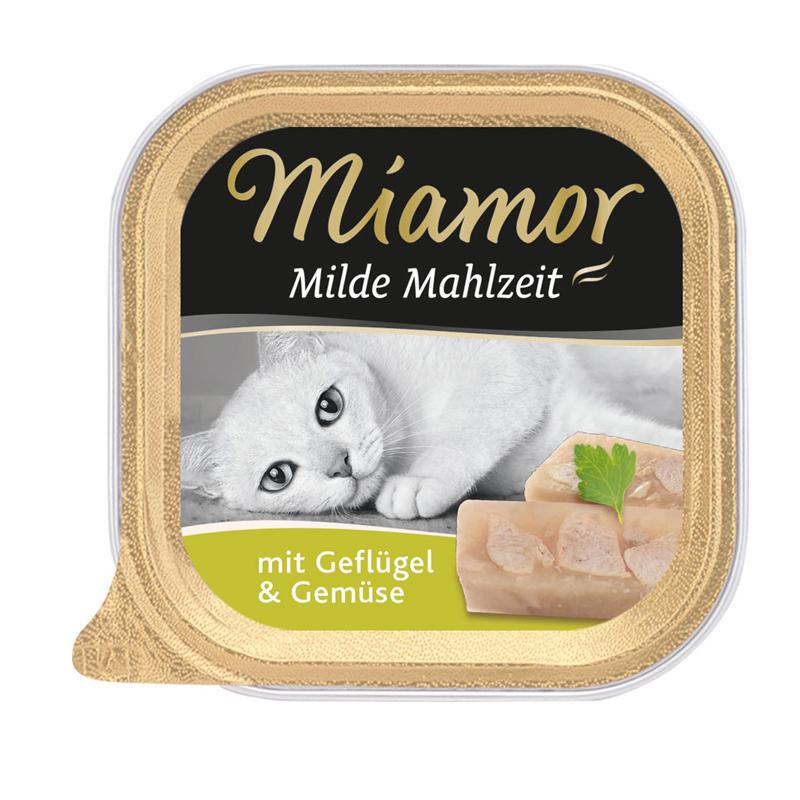 Miamor | Milde Mahlzeit Geflügel & Gemüse