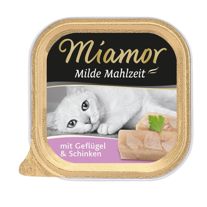 Miamor | Milde Mahlzeit mit Geflügel & Schinken