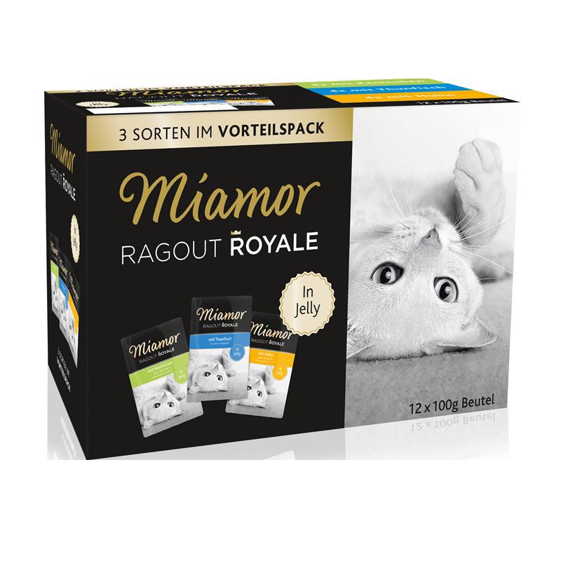 Miamor | Ragout Royale in Jelly Multibox mit Huhn, Thunfisch und Kaninchen
