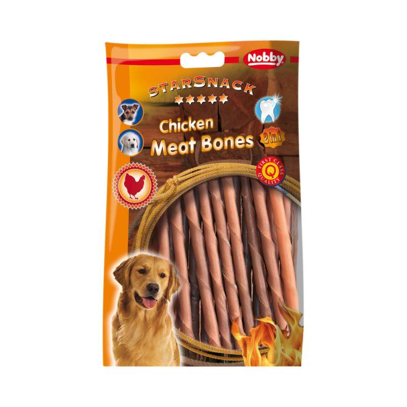 Nobby | CHICKEN MEAT BONES Hohlrolle mini