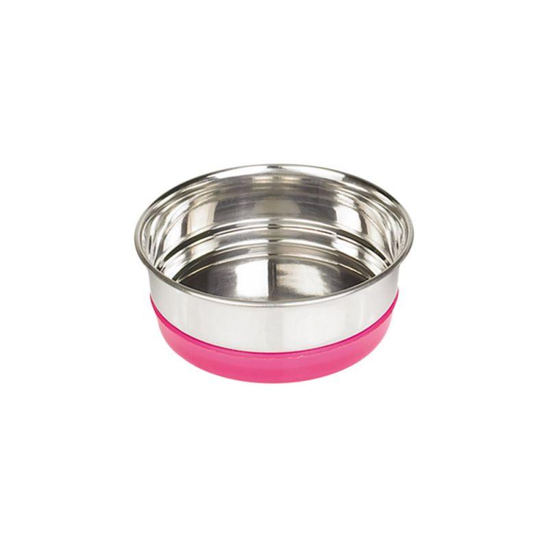 Nobby | Edelstahlnapf RINGI pink