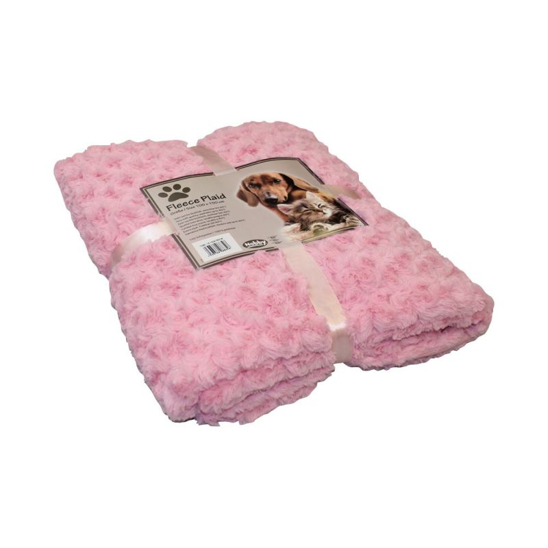 Nobby | Fleece Plaid SUPER SOFT pink