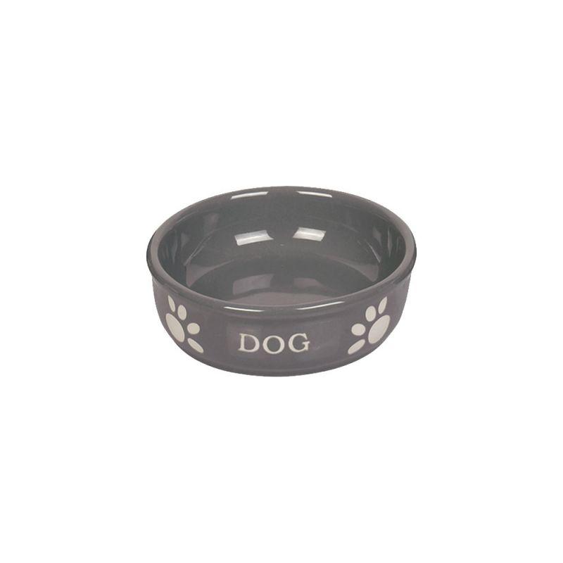 Nobby | Hunde Keramiknapf DOG grau