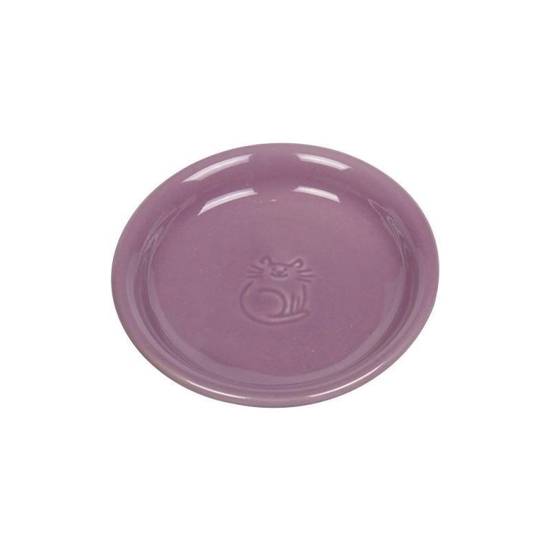 Nobby | Katzen Keramik Milchschale lila