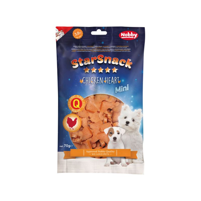 Nobby | STARSNACK MINI Chicken Heart