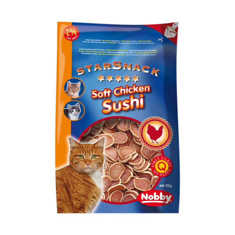 Nobby | STARSNACK Soft Chicken Sushi Cat