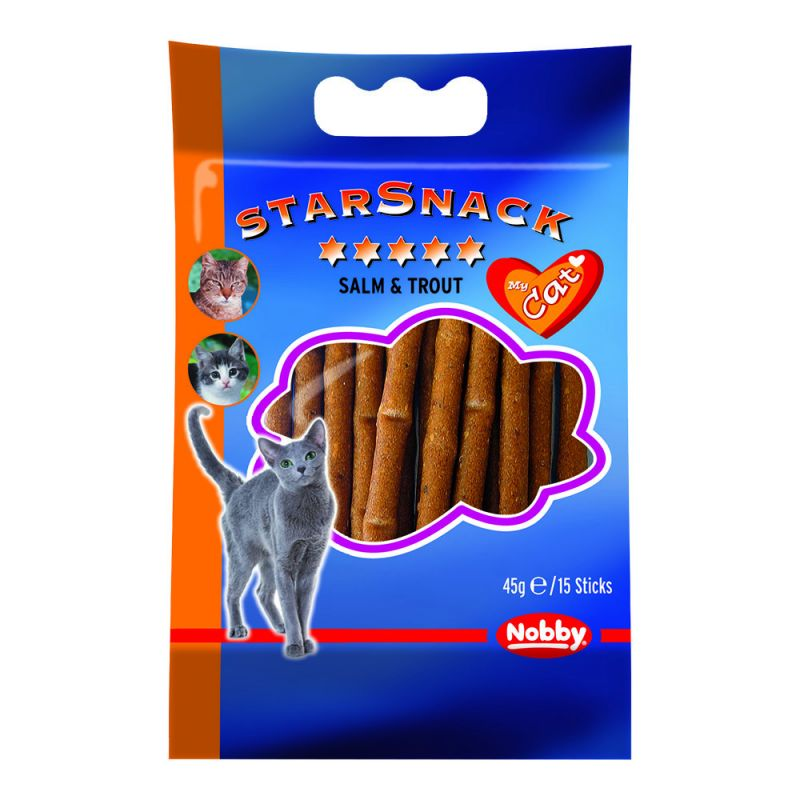 Nobby | Starsnack Sticks Salm & Trout