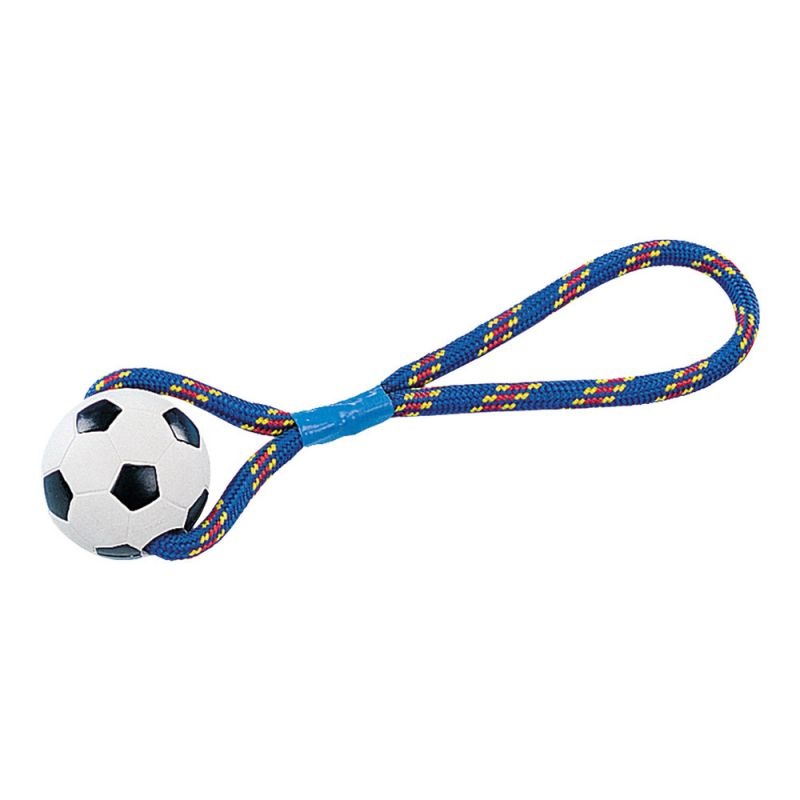 Nobby | Vollgummi Ball mit Seil