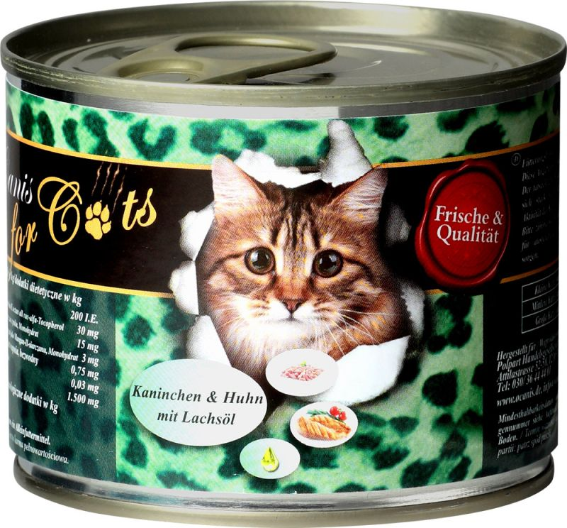 O'Canis | for Cats - Huhn, Kaninchen und Lachsöl