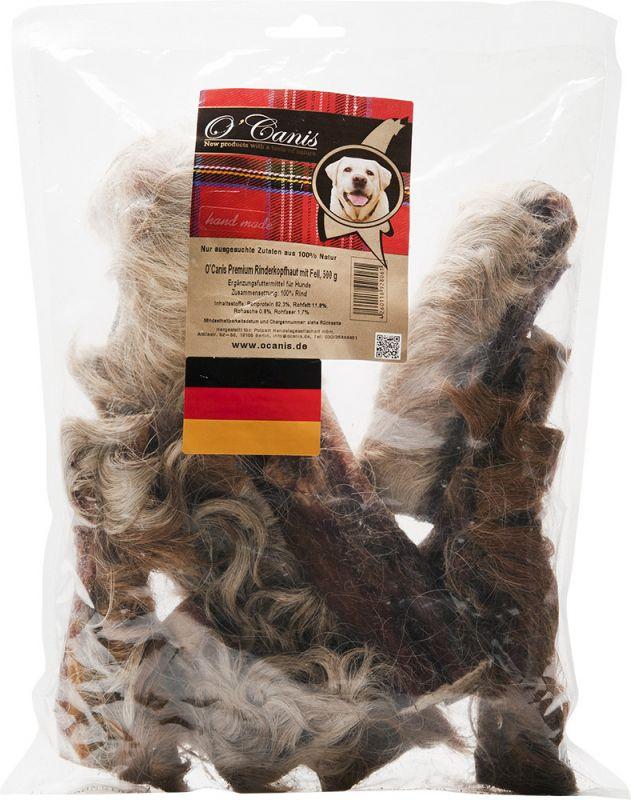 O'Canis | Premium Rinderkopfhaut mit Fell