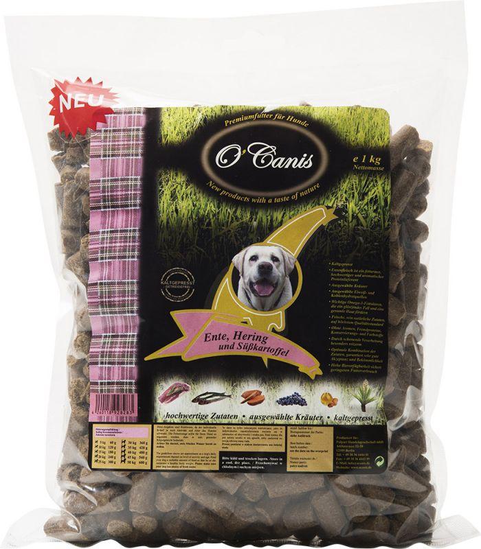 O'Canis | Premiumfutter Ente, Hering und Süßkartoffel, getreidefrei