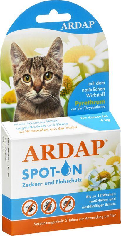 Ardap | Spot On für kleine Katzen