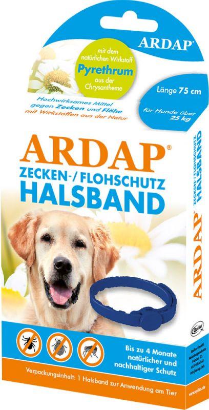 Ardap | Zecken- und Flohschutzhalsband für große Hunde über 25kg