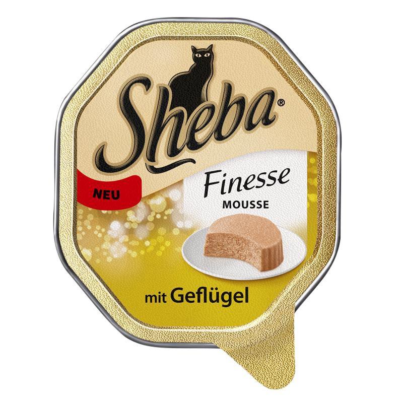Sheba | Finesse Mousse mit Geflügel