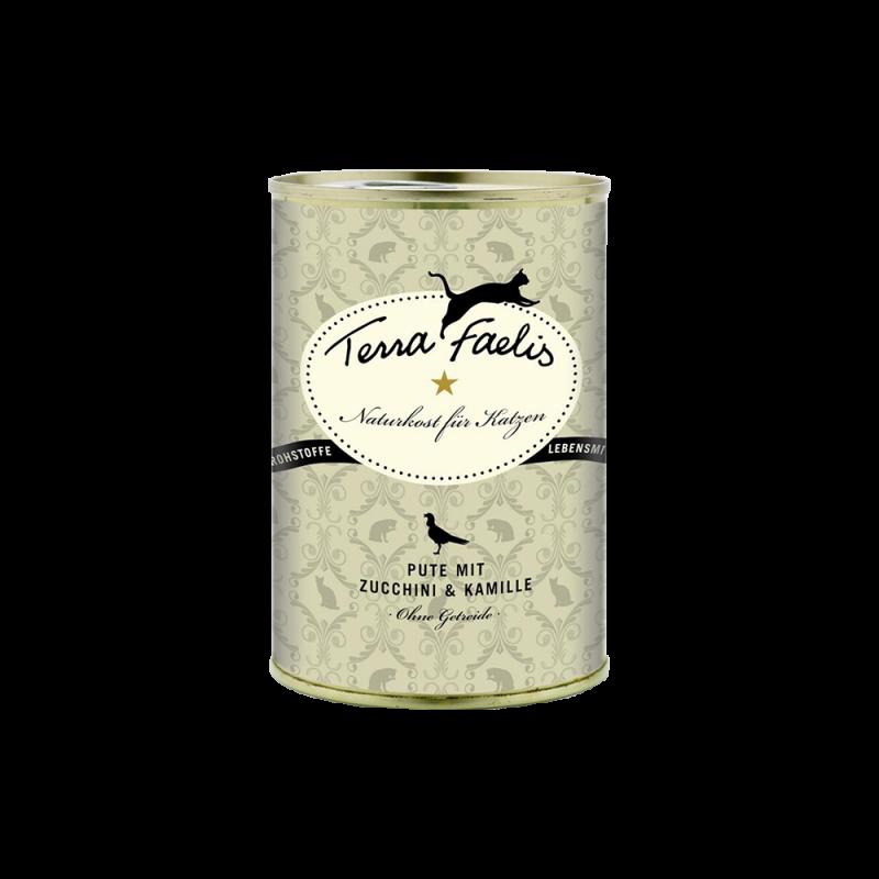 Terra Faelis | Pute mit Zucchini und Kamille