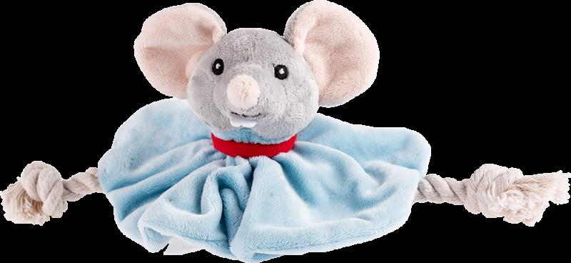 Trixie | Hundekönig Maus Tuch Leopold mit Stimme