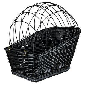 Trixie | Fahrradkorb mit Gitter schwarz