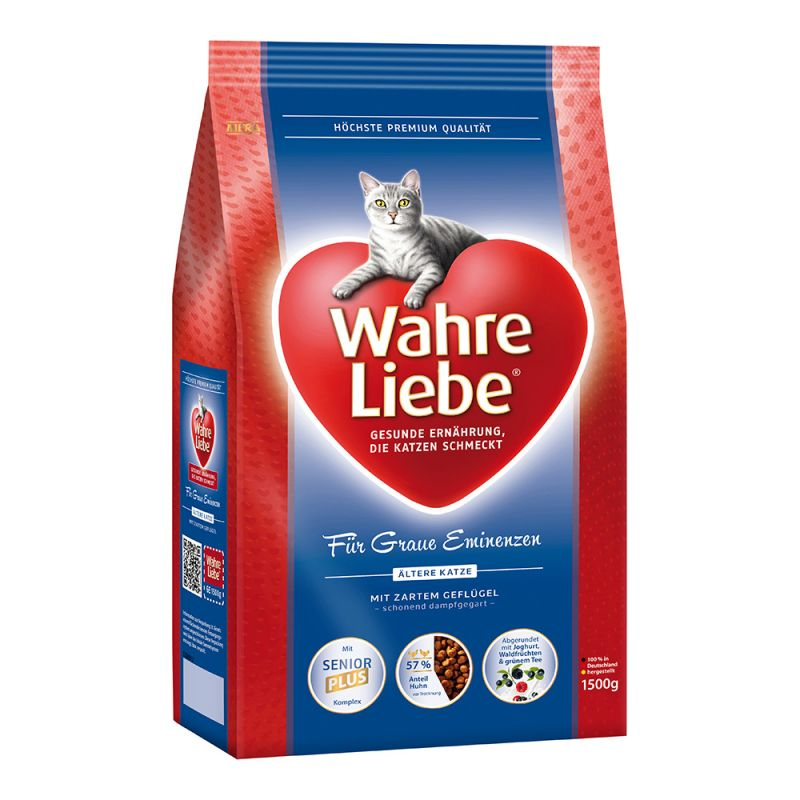 Wahre Cat Liebe Ältere Katze 1,5 kg