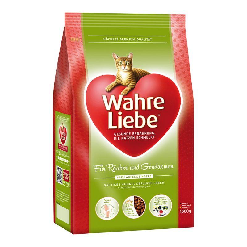Wahre Cat Liebe Freilaufende Katze 1,5 kg