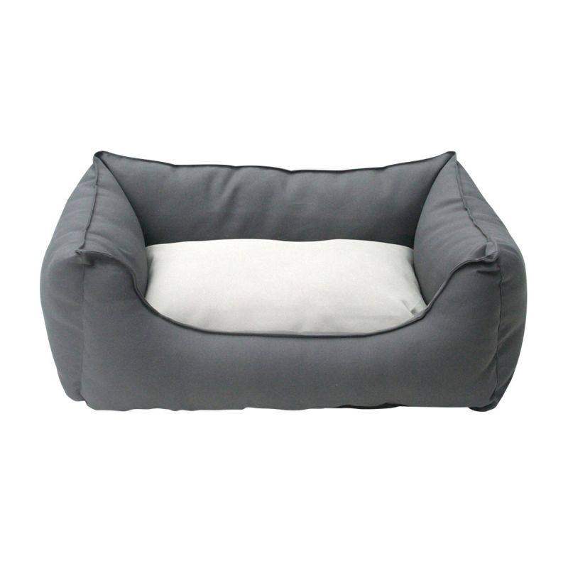 Wolters | Basic Dog Lounge anthrazit/kiesel