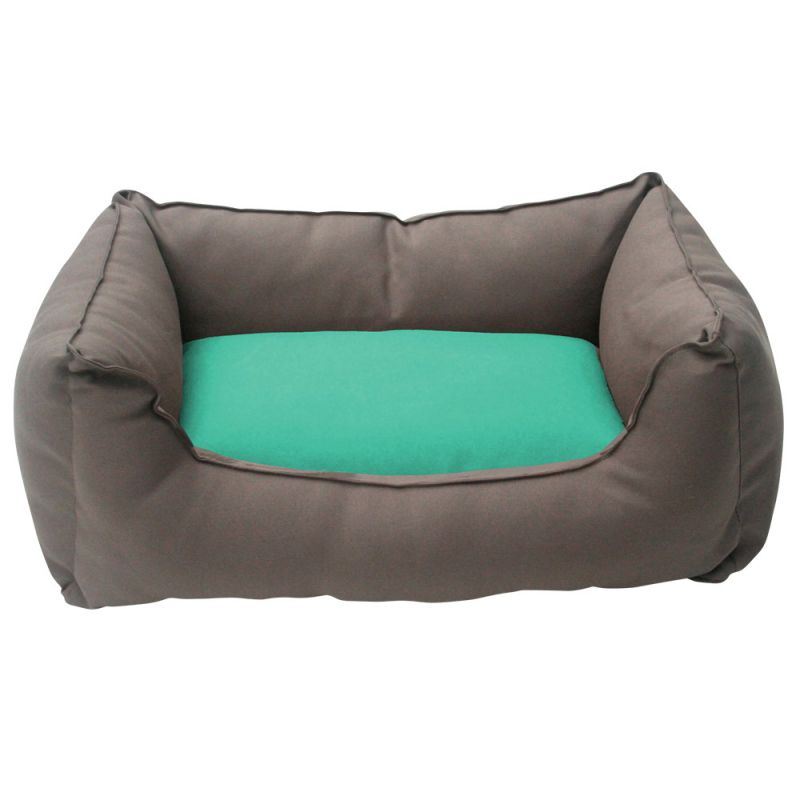 Wolters | Basic Dog Lounge mocca/mint