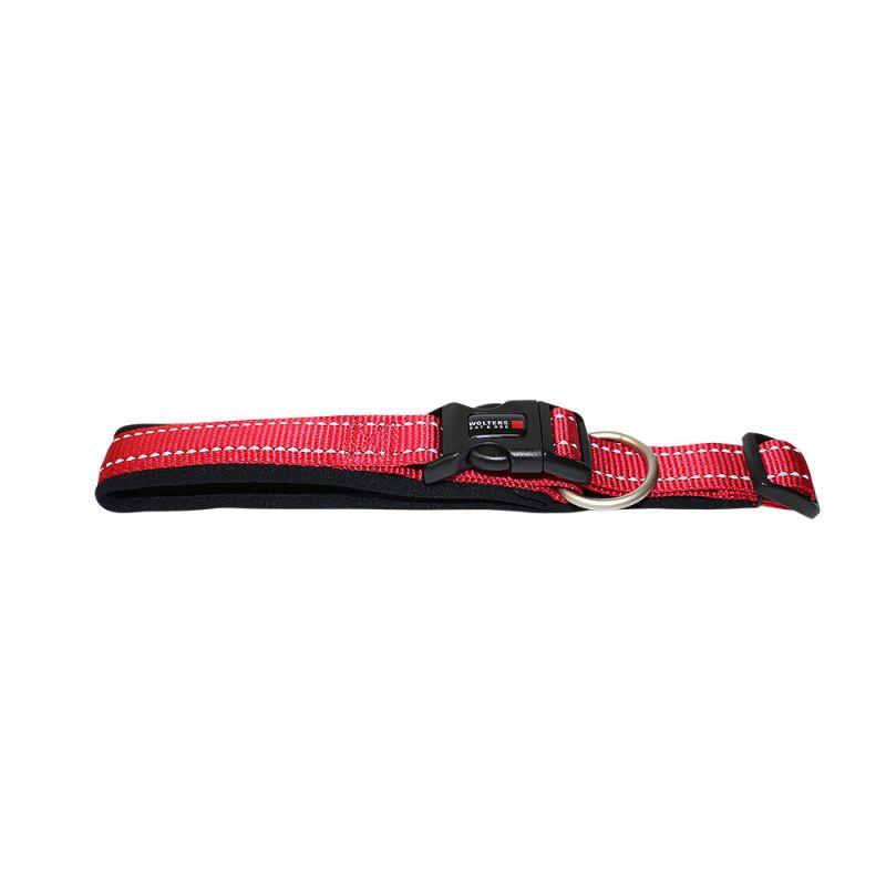 Wolters | Halsband Soft & Safe reflektierend cayenne/schwarz